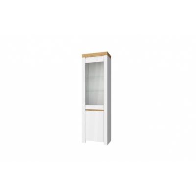Шкаф с витриной 1V1D (Таурус - Taurus)