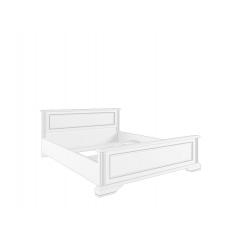 Кровать без основания Вайт 180х200 серебро