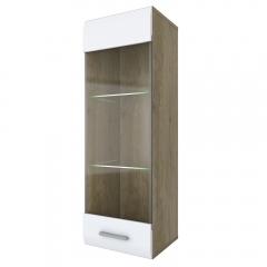 Шкаф навесной 1V/TYP05,  CITY ,  цвет дуб кантри/глянец