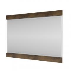 Зеркало навесное 80, MAGELLAN, цвет Дуб саттер