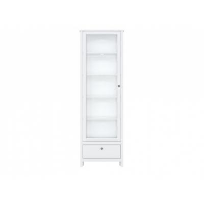 Шкаф REG1W1S/65с подсветкой (Хельга - Helga (белый))