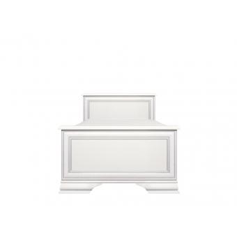 Кровать Кентаки (Kentaki) 90x200 белый с металлическим основанием
