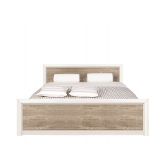 Кровать Коен 160x200 ясень снежный без основания