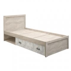 Кровать 90/D2, DIESEL , цвет дуб мадура/энигма