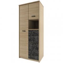 Шкаф 3DG2SN/D3, DIESEL , цвет дуб мадура/истамбул