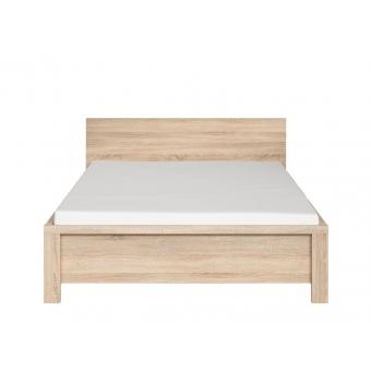 Кровать без основания Каспиан 140х200 дуб сонома