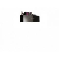 Шкаф настенный (Черный блеск)
