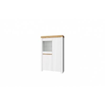 Шкаф с витриной 1V2D (Таурус - Taurus)