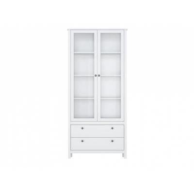 Шкаф REG2W2S с подсветкой (Хельга - Helga (белый))