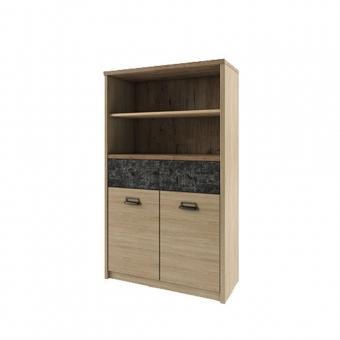 Шкаф 2D1S2NL/D3, DIESEL , цвет дуб мадура/истамбул