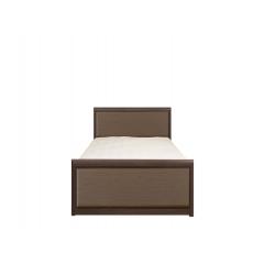 Кровать Коен 90х200 МДФ штрокс с металлическим основанием
