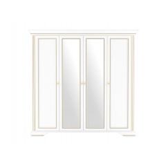 """Шкаф 4D(2S) """"Ясень снежный Шкаф Вайт 4D(2S) """"Ясень снежный золото"""""""""""