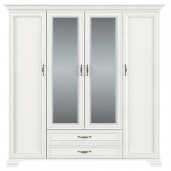Шкаф 4D2S, TIFFANY, цвет вудлайн кремовый