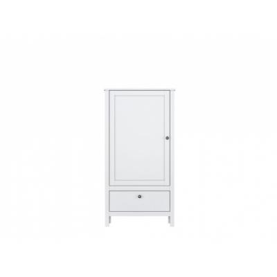Шкаф REG1D1S (Хельга - Helga (белый))