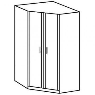Шкаф угловой JSZFN 2D (Индиана каньйон)