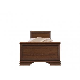 Кровать Кентаки (Kentaki) 90х200 каштан с металлическим основанием