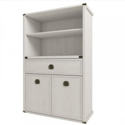 Шкаф открытый 2D1S (Магеллан сосна)