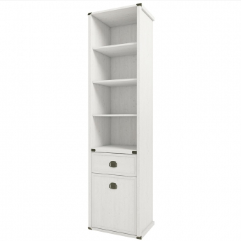 Шкаф открытый 1D1S, MAGELLAN, цвет Сосна винтаж
