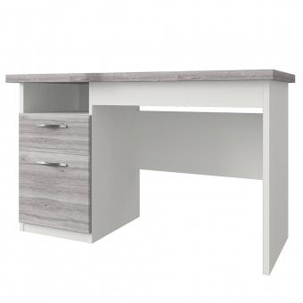 Стол письменный , OLIVIA, цвет вудлайн крем/дуб анкона