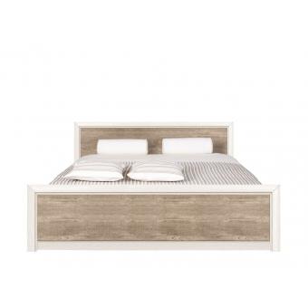 Кровать Коен 180x200 ясень снежный без основания