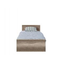 Кровать 90*200 с с металлическим основанием Малкольм (Malkolm) LOZ_90