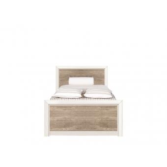 Кровать Коен 90х200 ясень снежный без основания