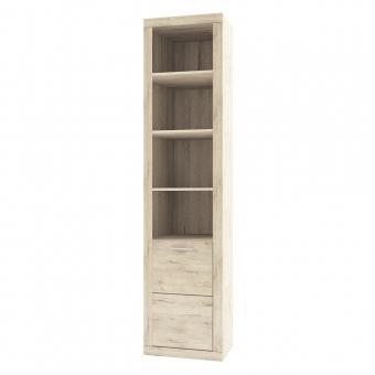Шкаф открытый 1D  OSKAR , цвет дуб Санремо