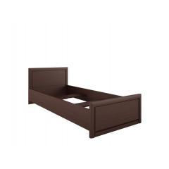 Кровать Коен 90х200 венге с металлическим основанием