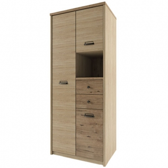 Шкаф 3DG2SN/D1, DIESEL , цвет дуб мадура/веллингтон