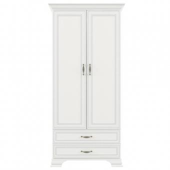 Шкаф 2DG2S, TIFFANY, цвет вудлайн кремовый