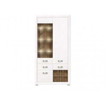 Шкаф с подсветкой REG1W2D2S