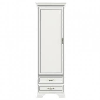 Шкаф 1D2S, TIFFANY, цвет вудлайн кремовый