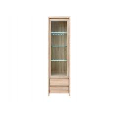 Шкаф REG1W2S с подсветкой (Дуб сонома)