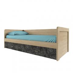 Кровать 90-2/D3, DIESEL , цвет дуб мадура/истамбул