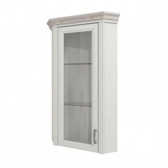 Шкаф с витриной 1VU, MONAKO, цвет Сосна винтаж/дуб анкона