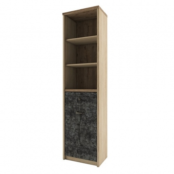 Шкаф открытый 1D1S/D3, DIESEL , цвет дуб мадура/истамбул