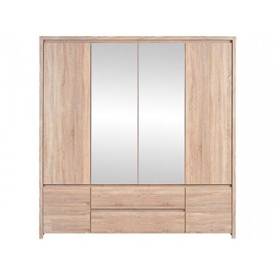 Шкаф платяной SZF6D2S/202 (Каспиан сонома)