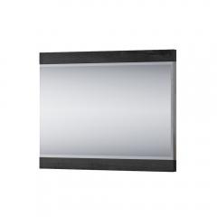 Зеркало навесное, JAGGER, цвет Дуб монастырский /черный
