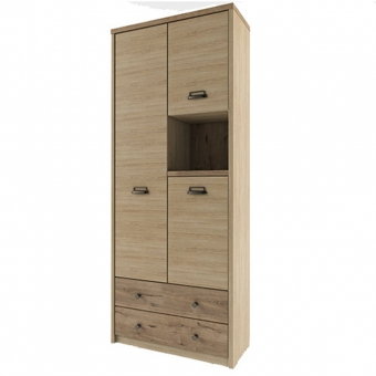 Шкаф 3D2SN/D1, DIESEL , цвет дуб мадура/веллингтон