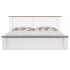 Кровать 180, PROVANS, цвет вудлайн крем/ дуб кантри