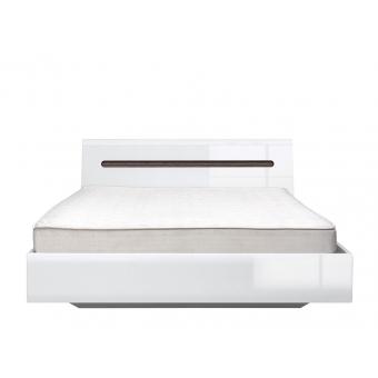 Кровать Ацтека (Azteca) 160x200 белый с подъемным механизмом