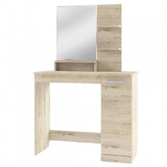 Стол туалетный, OSKAR , цвет дуб Санремо