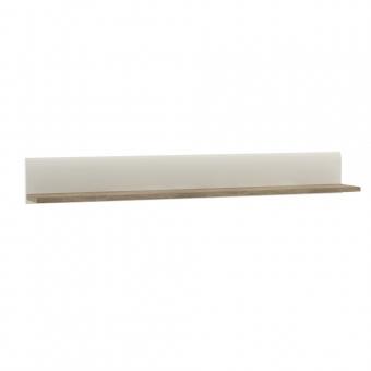 Полка/TYP 60, LINATE ,цвет белый/сонома трюфель
