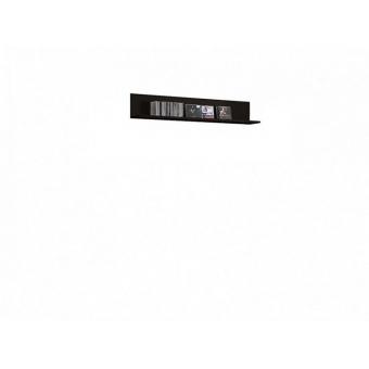 Полка PAN_2_12 Черный блеск