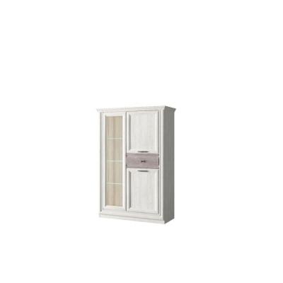 Шкаф с витриной 1V2D1S (Бордо - BORDO)