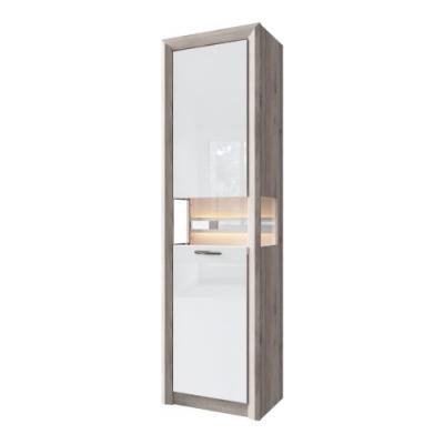 Шкаф с витриной 1V (Орландо - ORLANDO)