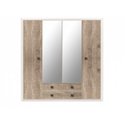 Шкаф платяной SZF4D2S/214 (Коен сосна)