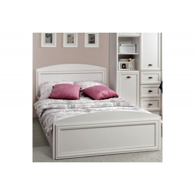 Кровать без основания Салерно (Salerno) LOZ/120 белая