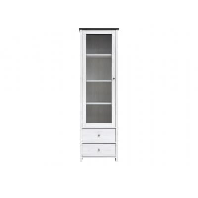 Шкаф-витрина Порто REG1W2S