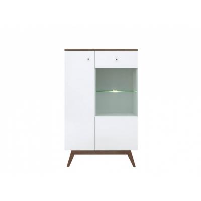 Шкаф REG1D1W с подсветкой (Хеда - Heda)